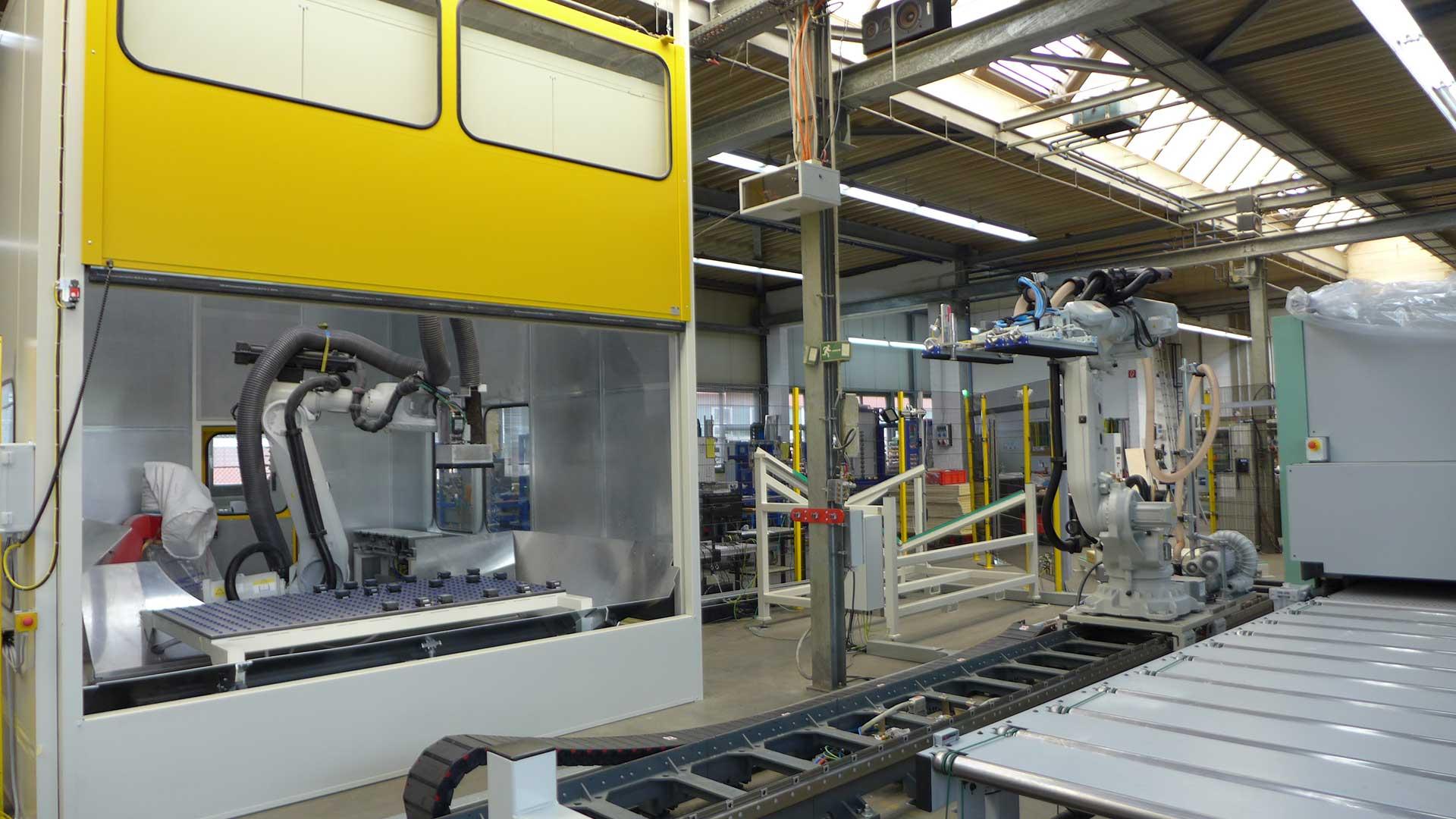 Automation Robotertechnik B+R Holzindustrie