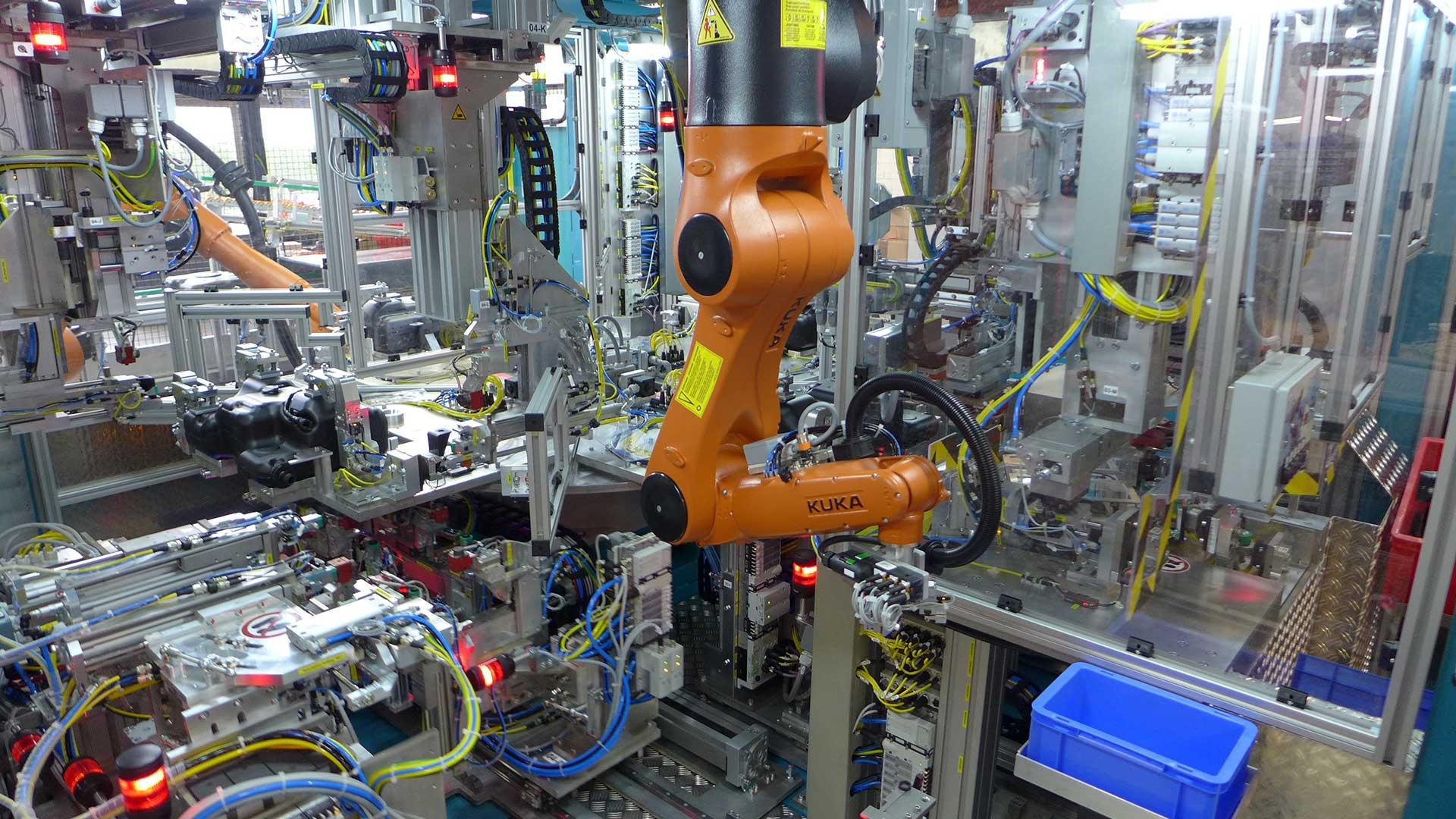 Automation Robotertechnik B+R Kunststofftechnik