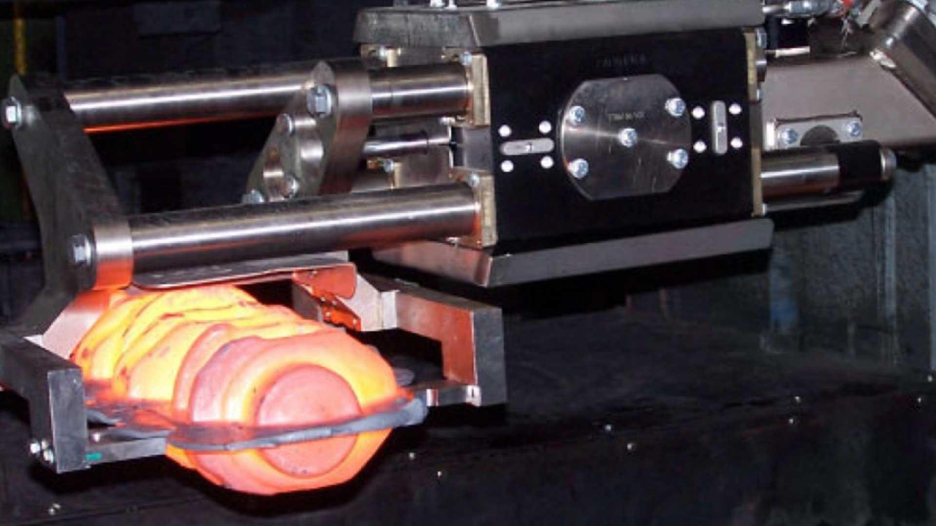 Automation Robotertechnik B+R Schmiedetechnik