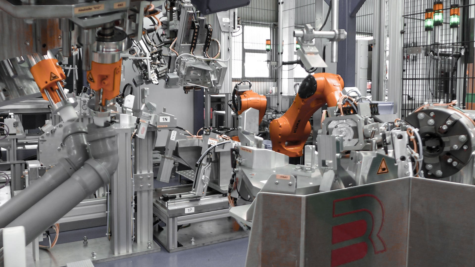 Automation Robotertechnik B+R Lösungen