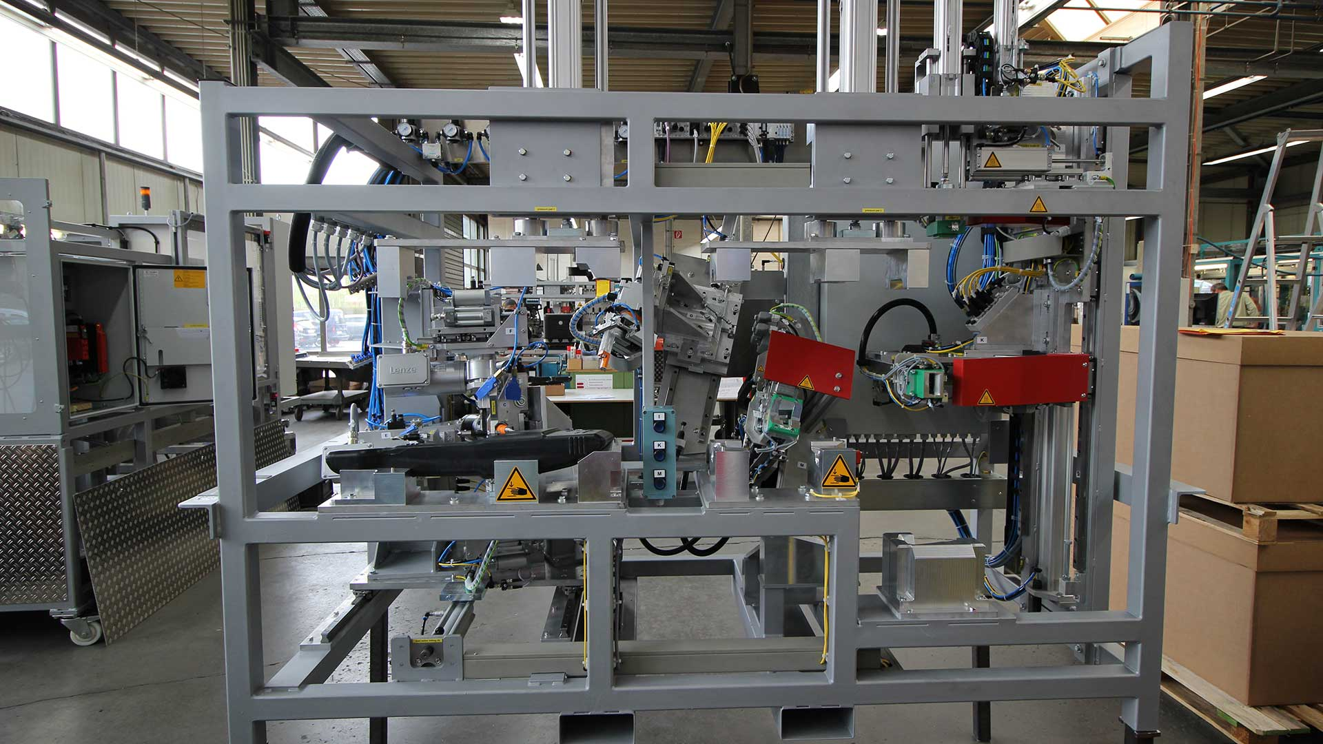 Automation Robotertechnik B+R Spritzgusstechnik