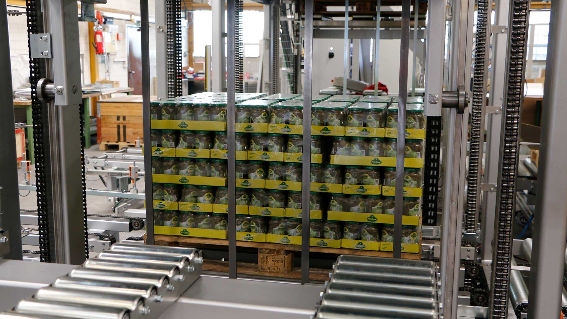 Automation Robotertechnik B+R Verpackung