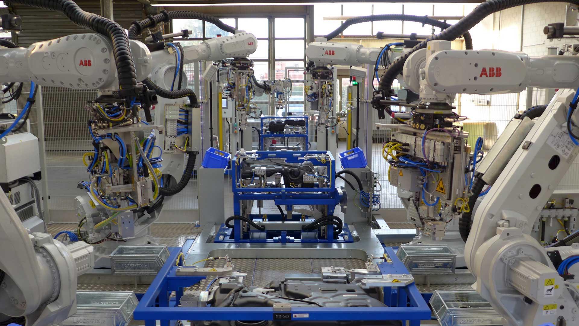 Automation Robotertechnik B+R Automotive